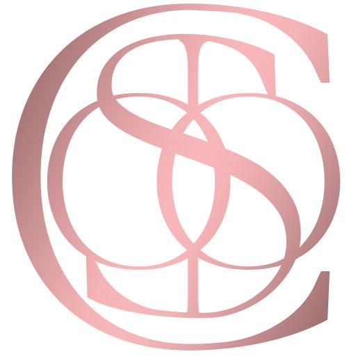 Candle Scoop Emblem Logo