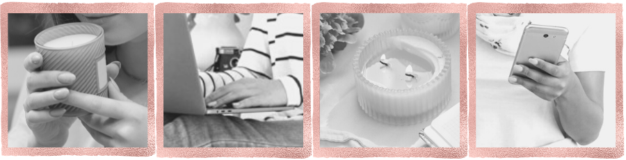 Candle Scoop Photo Strip