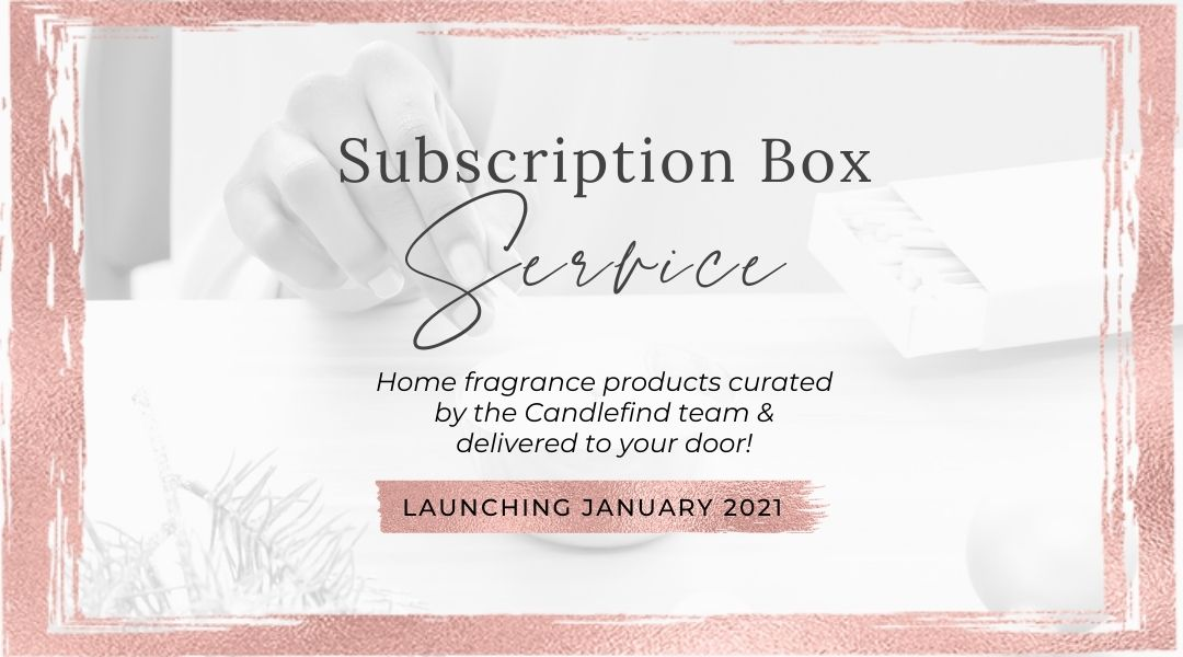 Candle Scoop Subscription Box Service